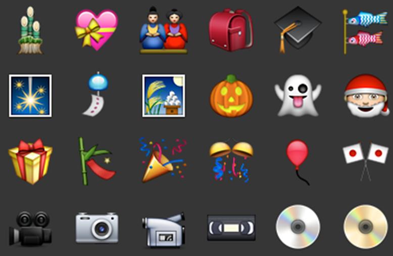 Emojis Liste
