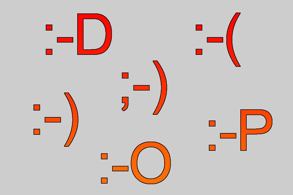Emoticons Liste